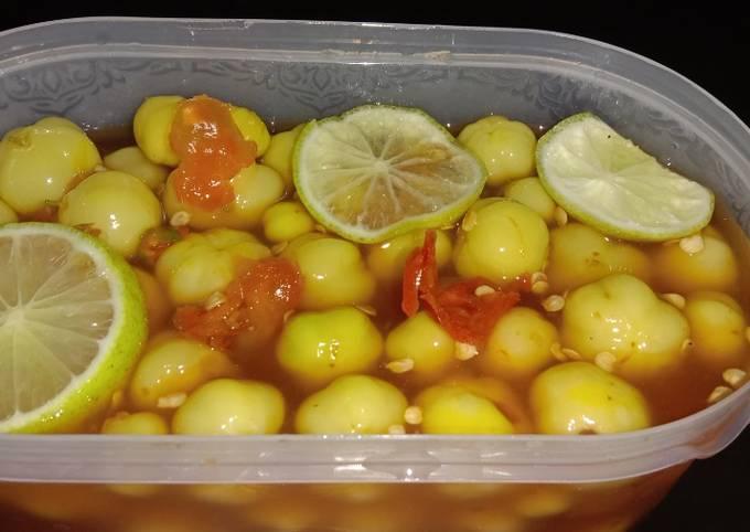 Resep Asinan buah ceremai