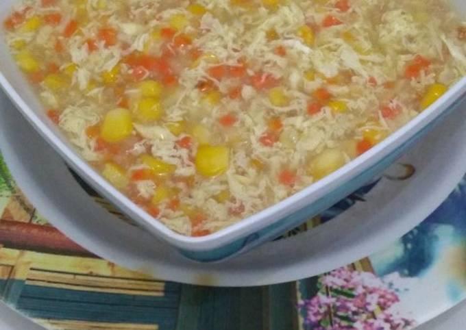 Resep: Sop jagung wortel