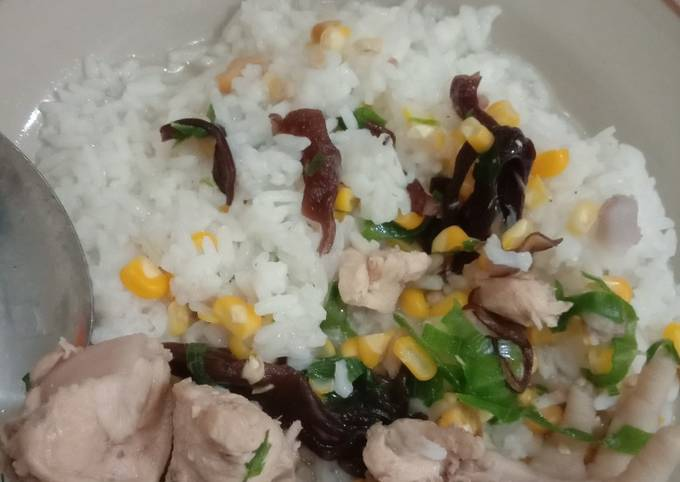 Resep: Sup ayam jagung