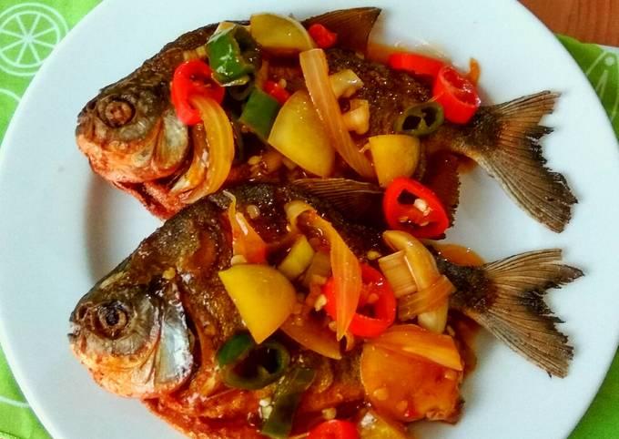 Resep: Bawal SiBaik (Kombinasi caBai dan Ikan)