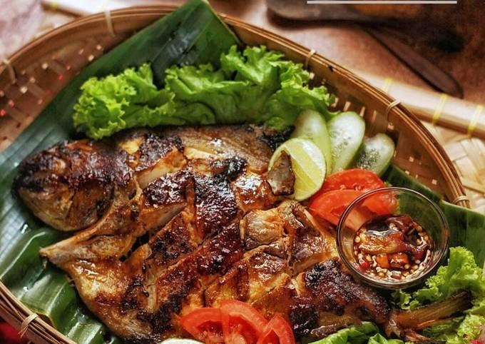 Resep: BAWAL BAKAR ala seafood Ayu 🐟