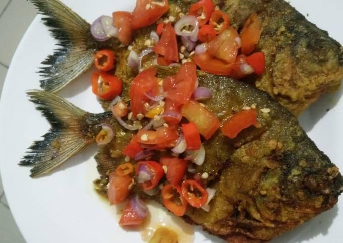 Resep: Ikan tepung sambal iris