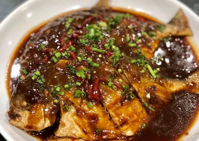 Resep Bawal goreng bumbu taoco pedas