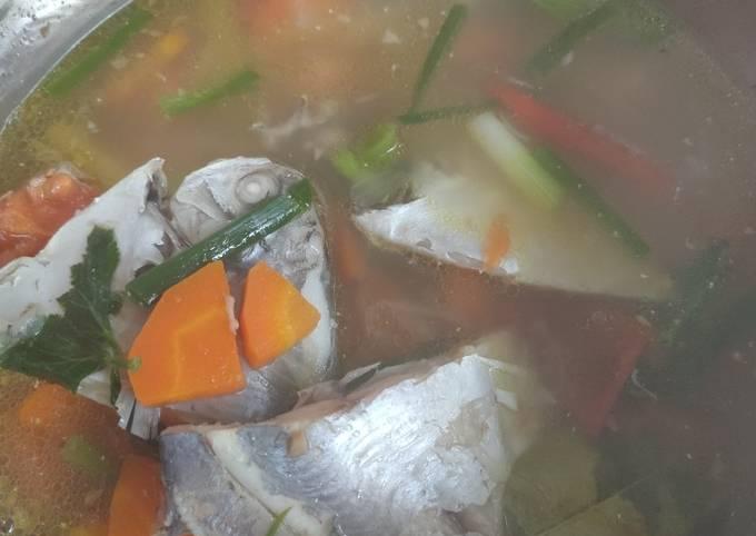 Resep Sup ikan bawal putih