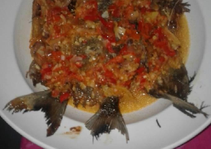 Resep Pecak ikan bawal