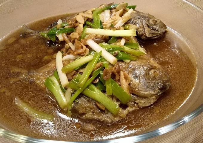 Resep: Ikan Bawal masak tauco