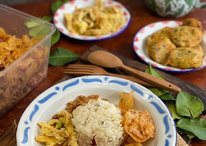 Resep Nasi Daun Jeruk masak di RiceCooker ala Tiger Kitchen