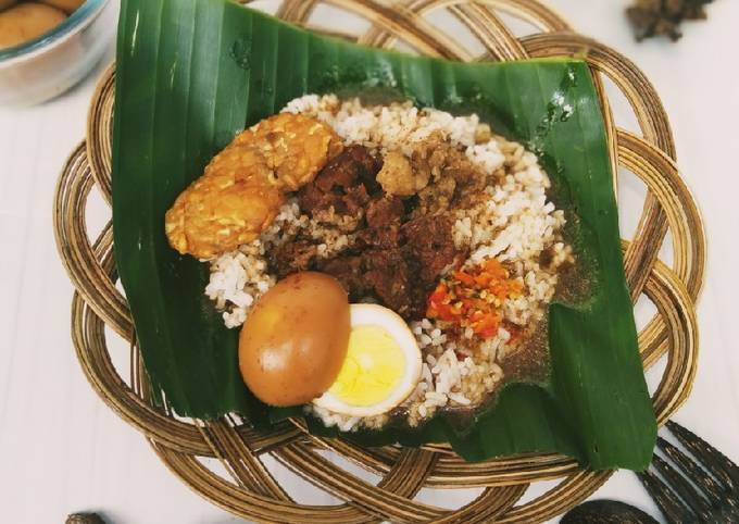 Resep Nasi gandul khas Pati