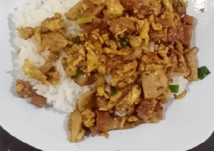 Resep: Nasi gila sarapan anak sehat cepat dan enak
