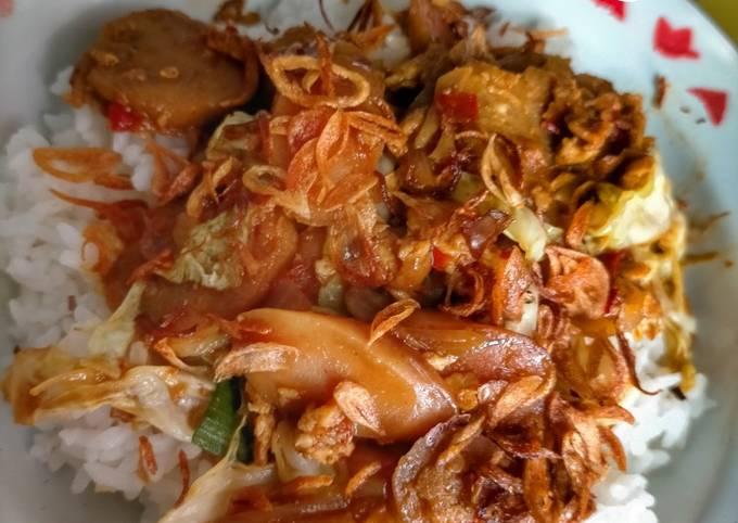 Resep: Nasi gila hits