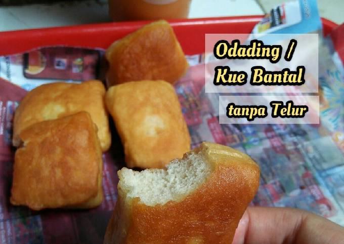 Resep: Odading / Kue Bantal tanpa telur