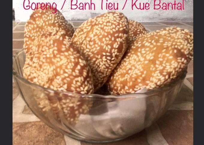 Resep: 46. Odading / Gembukan / Roti Goreng / Banh Tieu / Kue Bantal