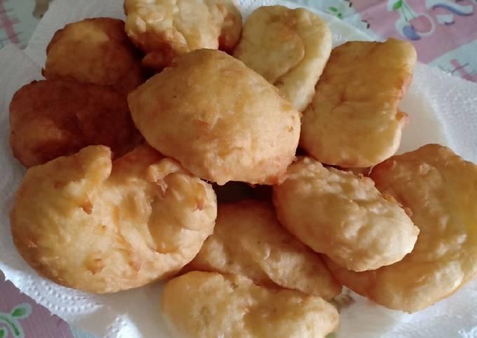 Resep: Odading / roti goreng