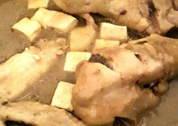 Resep: Opor Ayam dan Tahu Rempah