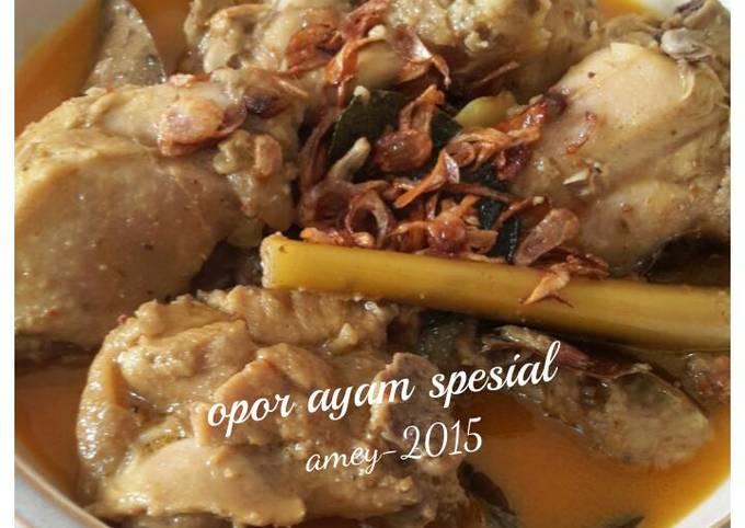 Resep: Opor ayam spesial
