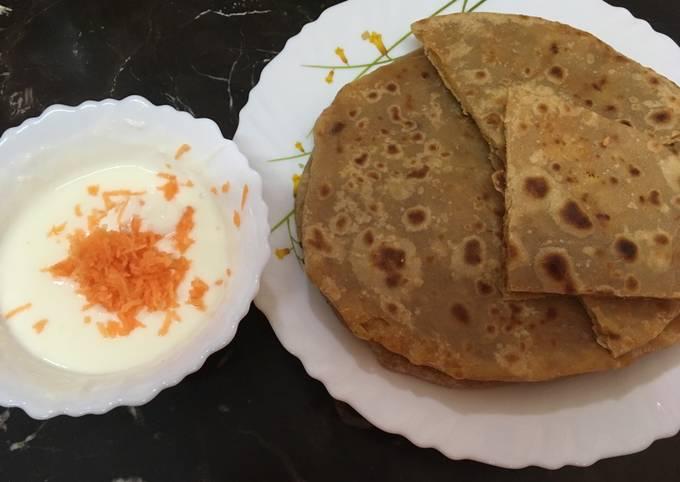 Resep: Kentang paratha (aloo paratha)