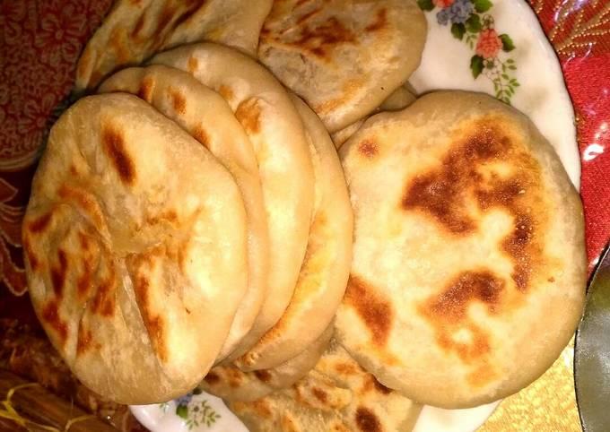 Resep Paratha kentang / aloo paratha (makanan khas india)