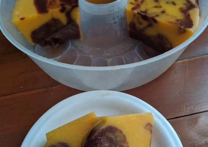 Resep Puding pumkin coklat