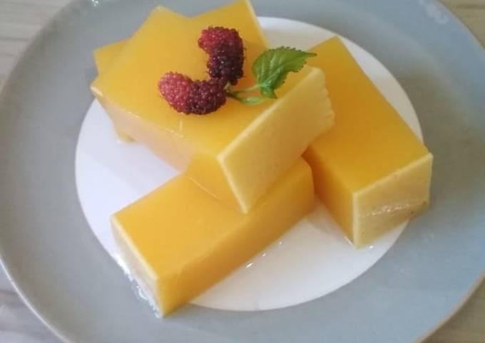 Resep: Puding labu kuning