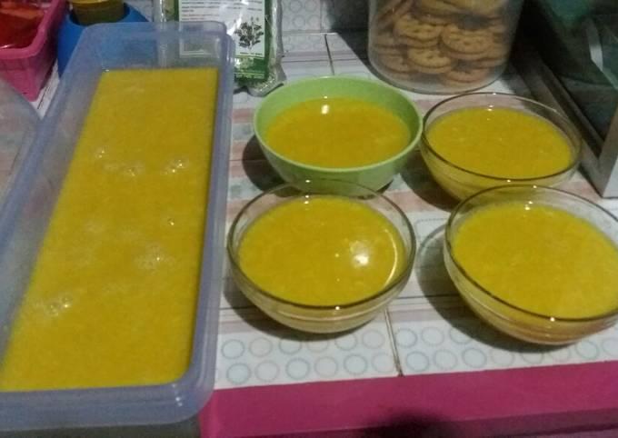 Resep Puding pumpkin(labu kuning)