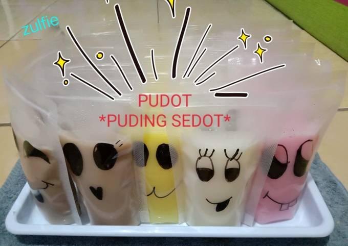 Resep: PUDOT (puding sedot)