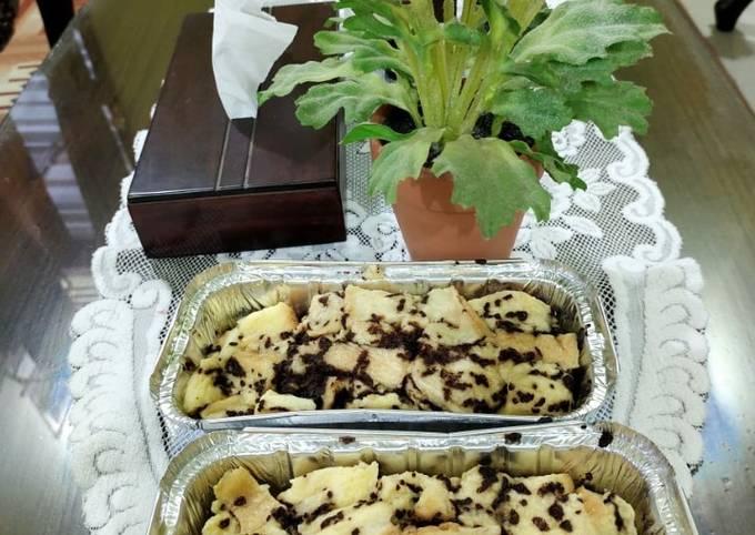 Resep: Roti tawar kukus cokelat