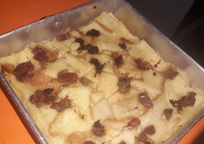 Resep Puding kukus roti tawar🍞