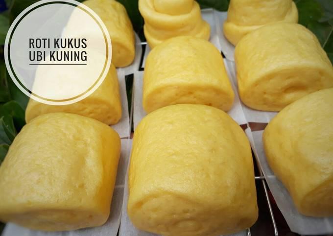 Resep Roti Kukus Ubi kuning||Chinese mantou