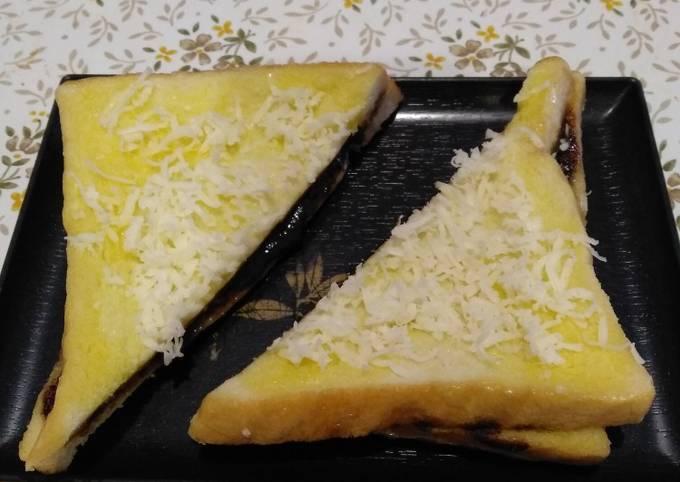 Resep Roti tawar isi coklat keju kukus
