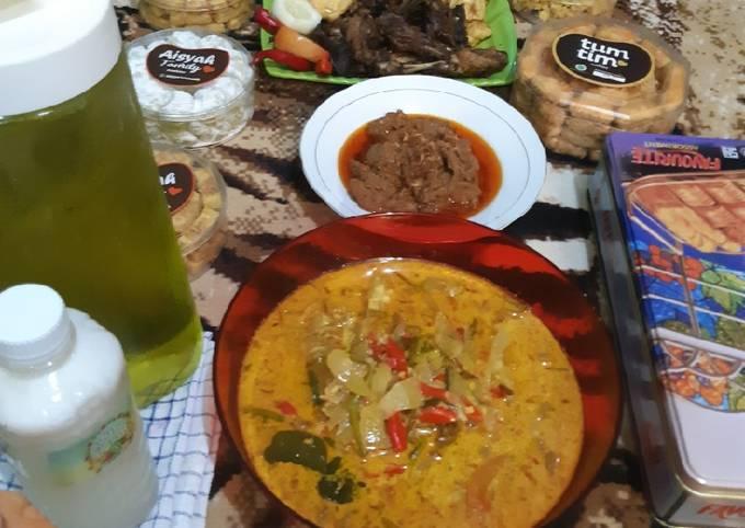 Resep Sambal goreng manisa/kenti