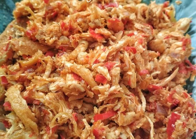 Resep: Ayam suir sambel matah (versi uleg dan tumis)