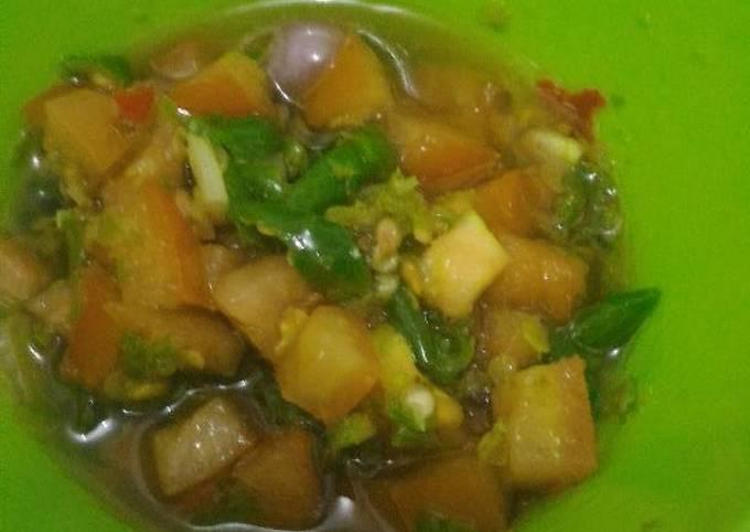 Resep Sambal Matah (tanpa bawang putih)