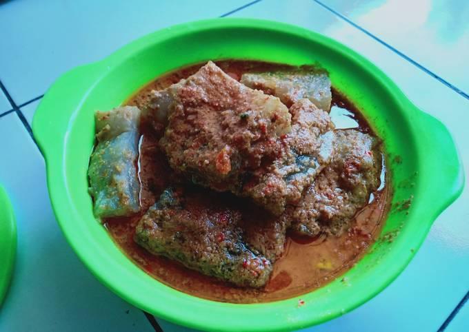 Resep Teci (Ciwang bumbu kacang)