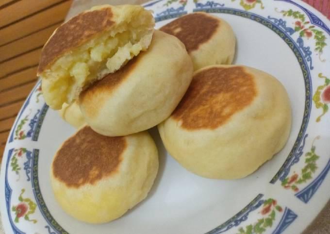 Resep: Roti isi Fla (Tanpa Oven)
