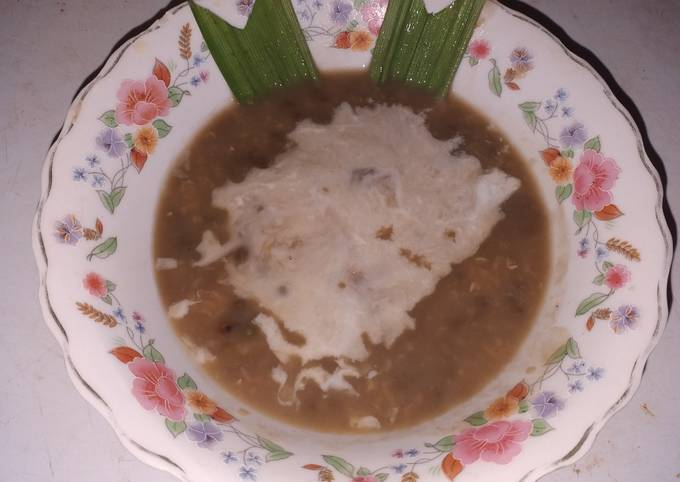 Resep Bubur kacang hijau kental simpel