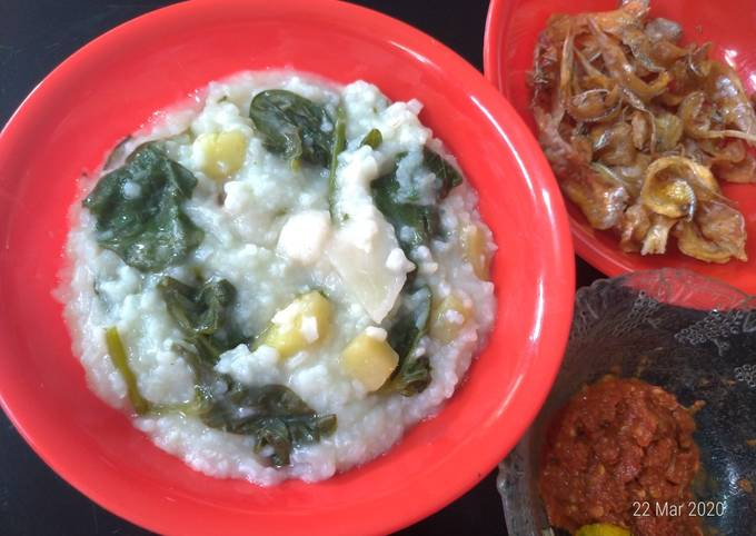 Resep Bubur Manado simple
