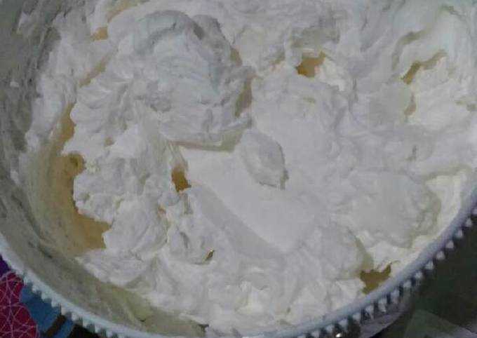 Resep: Butter cream anti eneg dan super lembut