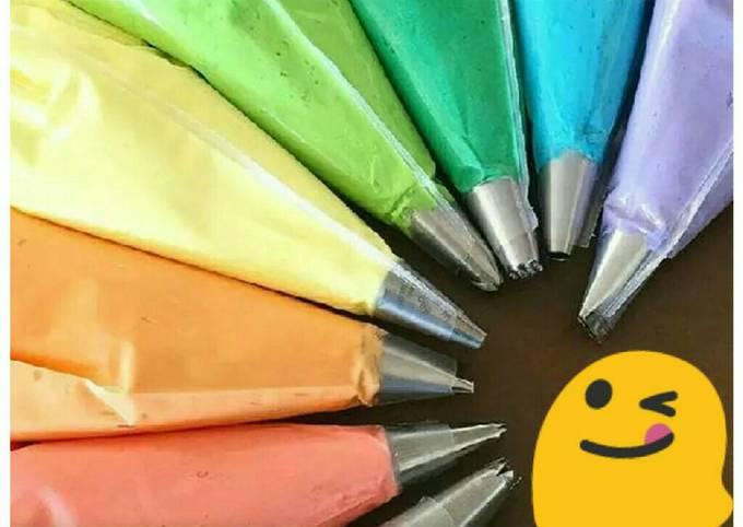 Resep: Butter cream enak lembut tidak eneg/Lengket dibibir