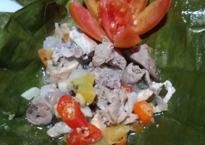Resep: Garang asem daging ayam dan ampela ati