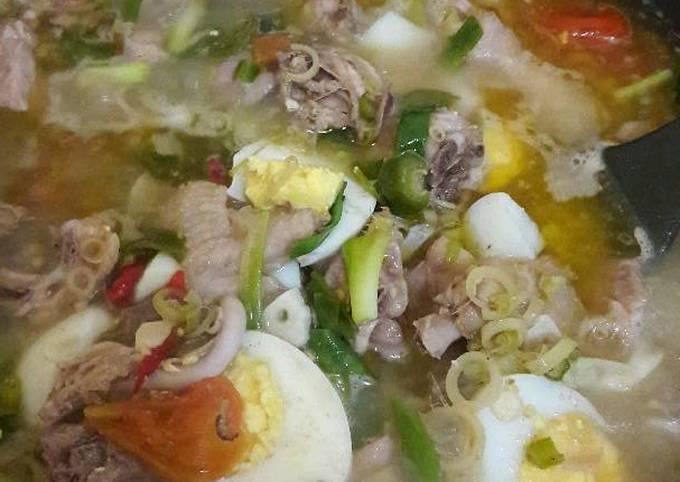 Resep Garangasem ayam telur