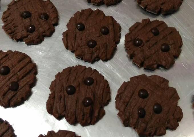 Resep Cookies coklat ala goodtime