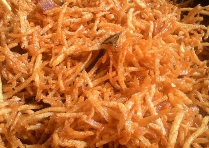 Resep: Kentang Musthofa *kering kentang awet kriuknyaaa