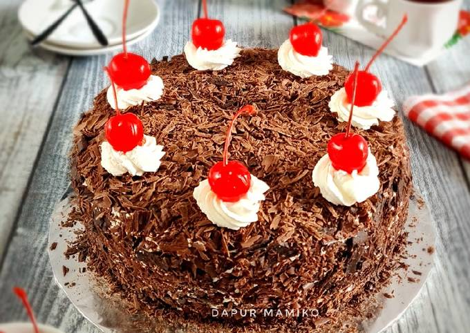 Resep: Blackforest Cake (Brownies kukus ala Ny. Liem)