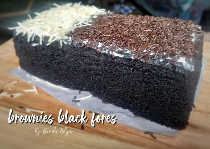 Resep: Brownies blackfores ny liem|| kukus || 4 telur