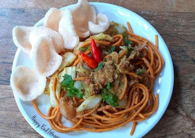 Resep Mie Gomak Goreng khas Toba Samosir (dengan penyesuaian)