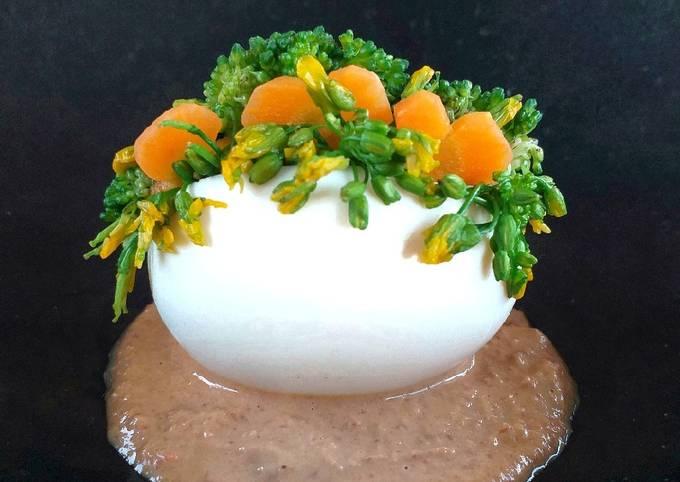 Resep: Pecel telur