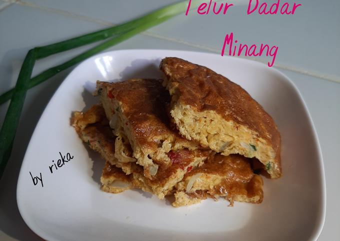 Resep Telur dadar Minang