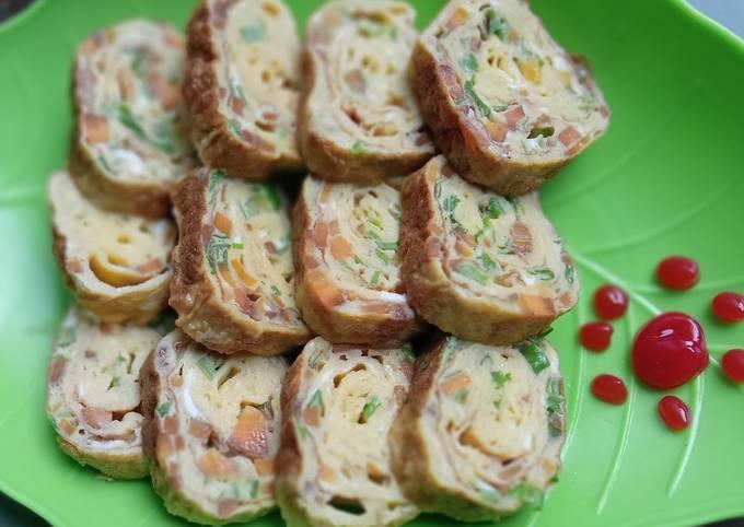 Resep Tamagoyaki aka telur gulung