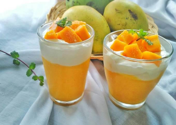 Resep Mango Thai (jus mangga jaman now😂)