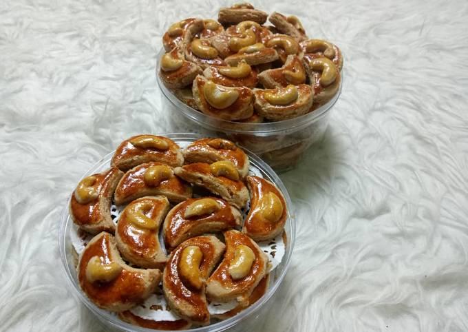 Resep Kue kacang (peanut butter cookies)